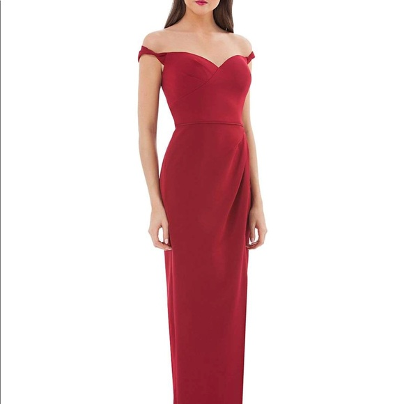 JS Collections Dresses | Nwt Designer Sweetheart Red Gown | Poshmark